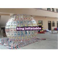 China Customized Amusement Inflatable Zorb Ball / Colour Ball Zorb With  For Festival Playing on sale