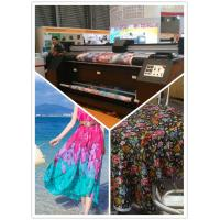 Buy cheap 2.2m Large Format Fabric Digital Printing Machine For Warp Knitted Fabric from wholesalers