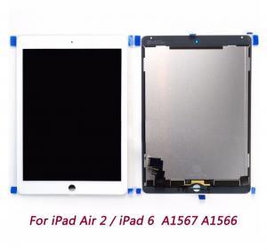 China IPad Air 2 Ipad 6 A1567 A1566 Tablet LCD Screen Digitizer Assembly wholesale