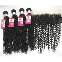 China 100g Curly Human Hair Weave wholesale