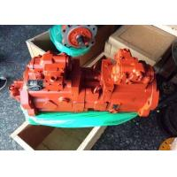 China Red Hyundai R220-7 R225-7 Hydraulic Pump Kawasaki piston pump K3V112DT-9C32-01 on sale