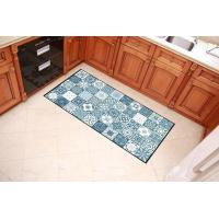 China Colorful Checkered Welcome Home Mat , Polyester Filling Outdoor Entrance Mats wholesale