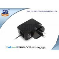 China Black GME Australia Plug Adapter , Medical 5v 1a Power Adapter wholesale