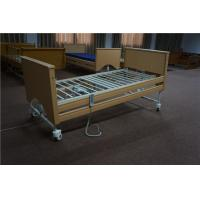 China Height Adjustable Home Care Beds With Lock Down Side Rails On Casters wholesale