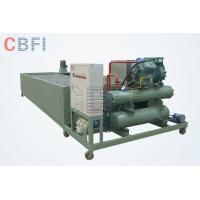 Quality 5 Tons Fast Cooling Industrial Ice Block Machine For Drink Easy Operation for sale