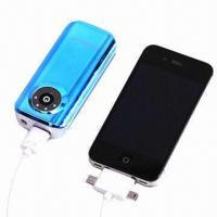 China 5600mAh Portable Power Banks, Used for iPad/iPhone/iPod/Smartphones/Digital Cameras, MP3/MP4 Players  wholesale