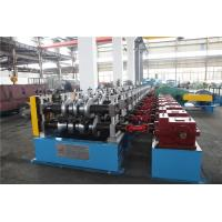 China Auto Stacker Highway Guard Rail Roll Forming Machine 8Tons Hydraulic Decoiler wholesale