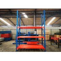 China Custom Powder Coated Heavy Duty Industrial Shelving For Warehouse With Steel Plate wholesale