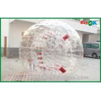 China Commercial PVC Zorb Ball For Sports Game , Giant Inflatable Ball on sale