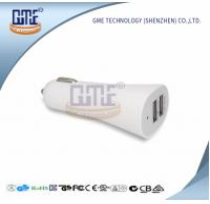 China Car Universal Travel Adapter 5V 2.1A / 5V 1A Dual Port Adapter wholesale