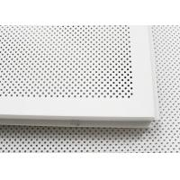 China 600 x 600 Acoustic Ceiling Tiles Aluminum Perforated Metal Ceiling for Open Area wholesale