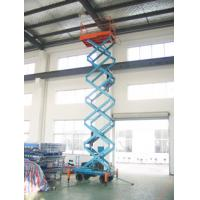 China Motorized scissor lift with loading capacity 500Kg and 9M Lifting Height and Extension platform wholesale