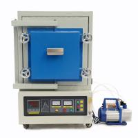 China 1400.C High Temperature Atmosphere Vacuum Muffle Furnace For Heating Experiment wholesale