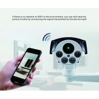 Quality White Bullet 4G CCTV Camera System Ptz Ip Solar Powered Cctv Security Cameras for sale