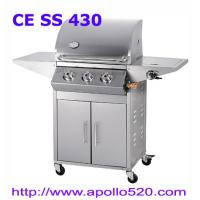 High Quality BBQ Grill 3burners  with cabinet