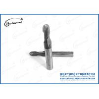 China Carbide Ball End MillFor Wood , Standard Length Square Round End Mill Bits wholesale