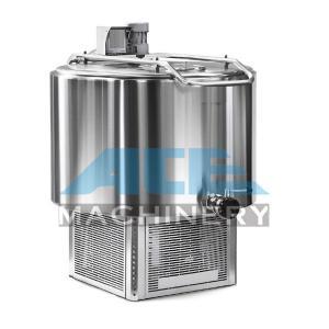 Quality Stainless Steel Milk Tank/Milk Cooling Tank Price/Milk Cooling Equipment 500 Liter Water Tank  Milk Cooler Tank for sale