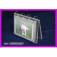 China Transparent Acrylic Calendar Holder , Plastic Calendar Display Stand wholesale
