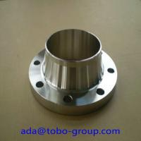 "China Industrial UNS 2201 S32750 / S32760 Long Weld Neck Flange 1/2""- 48"" wholesale"