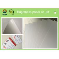 China Grade AA C2s Glossy Poster Paper , Glossy Brochure Paper For Inkjet Printers wholesale