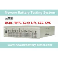 China Ultra High Precision Neware Battery Tester 10V / 10A DCIR And Pulse Test Supported wholesale