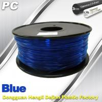 Quality Blue 3mm Polycarbonate Filament Strength With Toughness1kg / roll PC Flament for sale