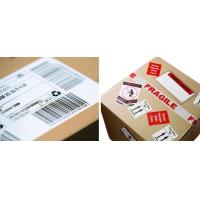 China Waterproof Logistic Labels , Custom Self Adhesive Barcode Labels ISO CE wholesale