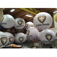 China 2.5m PVC Inflatable Helium BigSky Balloon Advertising With Logo Printing wholesale