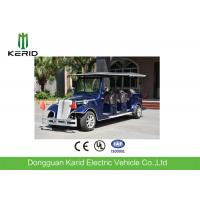 China Vintage Style Electric Shuttle Bus Sightseeing Car For 8 Passengers Anti - Fatigue on sale
