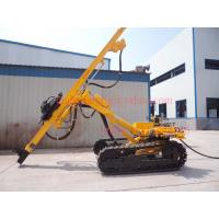 China Top Hammer Rock Drilling Rig With Highly Efficient Pneumatic Motor Driven wholesale