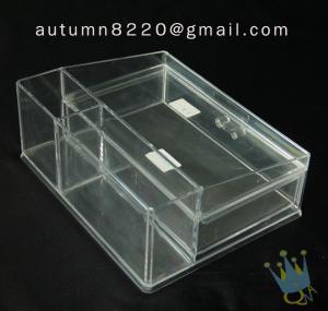 China BO (63) clear acrylic makeup case wholesale