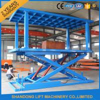 China Portable Hydraulic Scissor Car Lift home elevator WITH high strength Manganese Steel wholesale