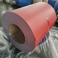 China Color 0.2mm To 6.0mm Gutter Aluminum Roll PE Polyester Coating wholesale