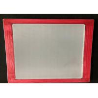 China Easy Cleaning Silk Screen Printing Frame , Aluminum Screen Printing Frames wholesale