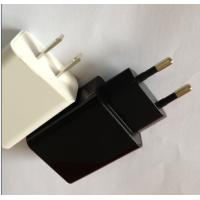 Buy cheap IPAD / iPhone Travel Power Adapters 5V DC 500mA , OCP OVP Protection from wholesalers