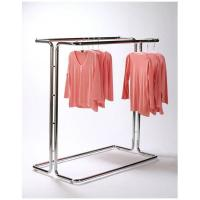 Quality Fashionable Metal Single Bar Garment Display Stand Clothes Hanging Rack For for sale