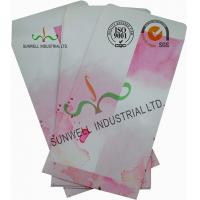 China Normal Finising Ordinary Paper Custom Printed Envelopes 4 Colors Peach Flowers wholesale