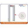 China LED Display Walk Thru Metal Detectors With Camera , Walk Through X Ray Machine wholesale