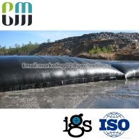 China PP woven Sludge dewatering geotube geotextile roll bag and geobag wholesale