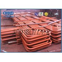 China Red Carbon Steel Superheater And Reheater Energy Saving For Power Station wholesale