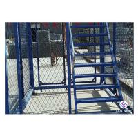 China Simple Quick Installation Safety Construction Cage , Step Ladder Cage For Subway Tunnel wholesale