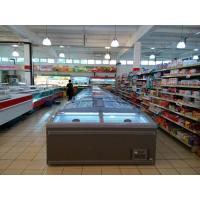 Quality Automatic Defrost Supermarket Island Freezer CFC Free Refrigerant High Efficiency for sale
