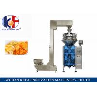 China KEFAI Automatic Weighing Sales Chips / Snack Nitrogen Packing Machine For Food wholesale