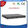 Buy cheap 4 GEPON OLT/4 PON OLT EPON/4 GEPON OLT/ Cortina chipset EPON OLT/Compatible with many ONUs product