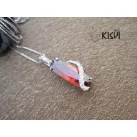 China 2012 Hot Selling 925 Sterling Silver Gemstone Pendant with Zircon W-VB906 wholesale