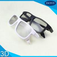 China Comfortable Design Linear Polarized 3D Glasses 0.23mm Thickness For IMAX Movie Theater on sale