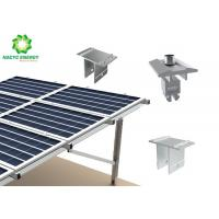 China Galvanized Steel Ground Aluminum Bracket  Solar Panel Structure Racking Systems Ground Mounting Systems on sale