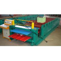 China Corrugated Roof Panel Roll Forming Machine Wave Galvanized Roof Sheet Cold Roll Former wholesale