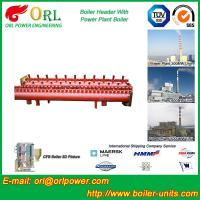 China Solar Boiler Hydraulic Header Manifold / Manifold Header High Heating Efficiency wholesale