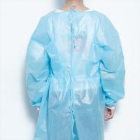 China Hospital Disposable Protective Coveralls Surgical Isolation Gown Anti Static wholesale